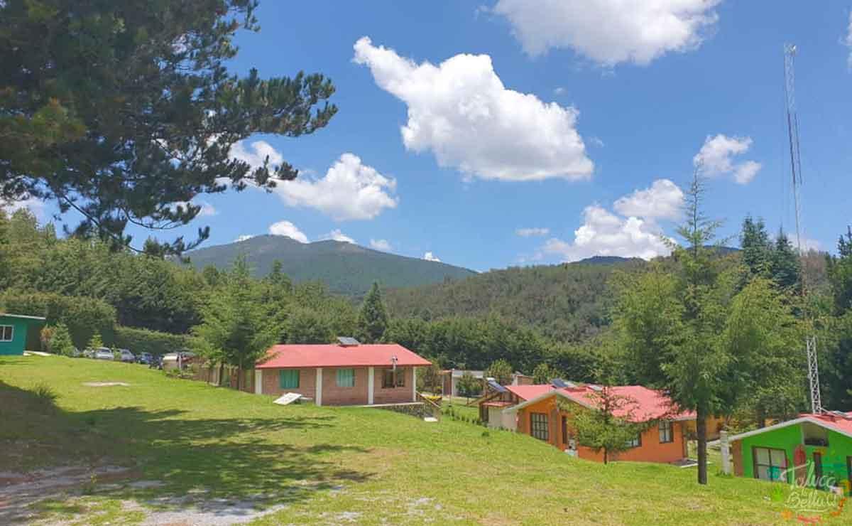 Cabañas para descansar en Edomex cerca del Centro Ceremonial Otomí en Temoaya
