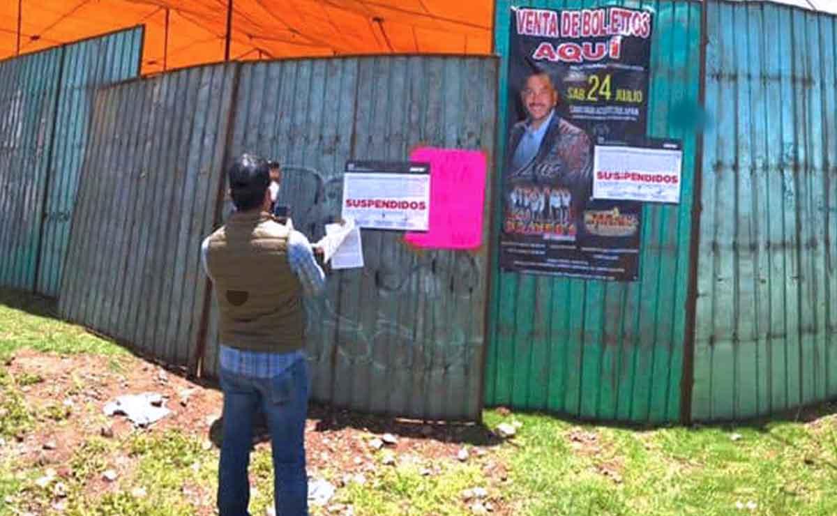 Edomex: Cancelan bailes en Toluca.
