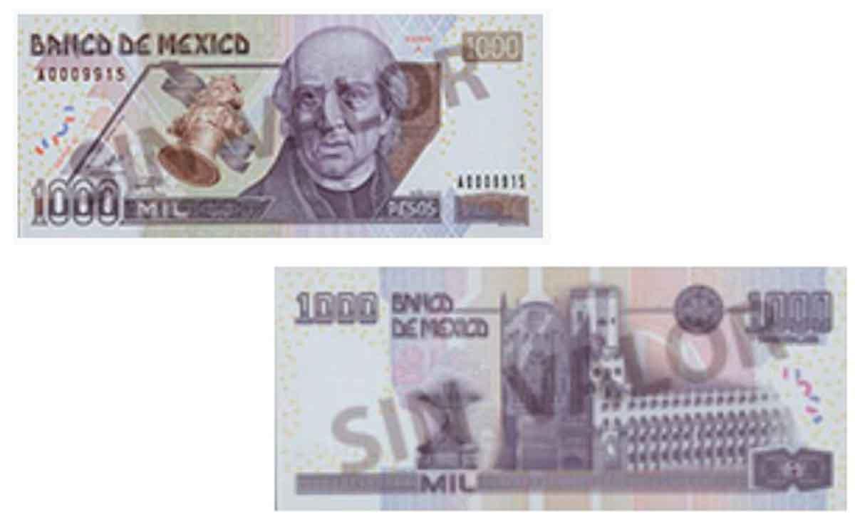 Estos billetes dejarán de circular en México.