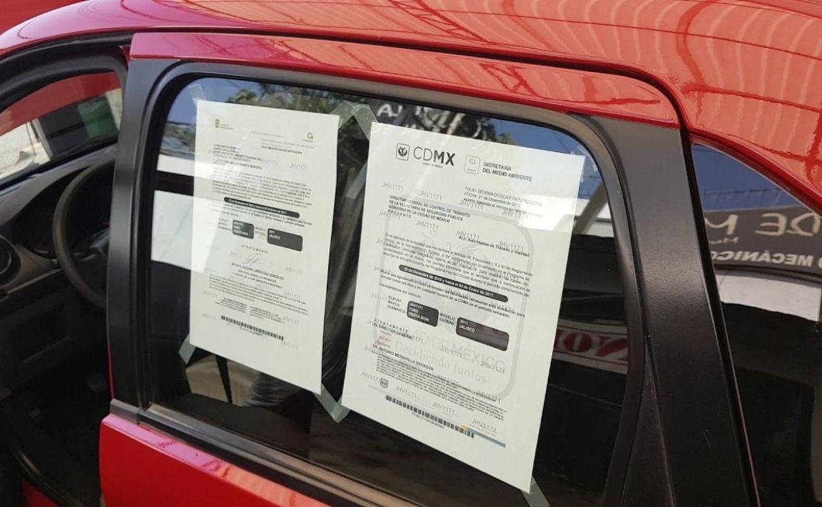 Se trata de un trámite gratuito que se otorga a vehículos particulares foráneos a la Ciudad de México y el Edomex a partir de los modelos 2008 a 2022.
