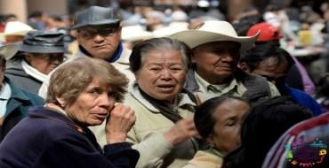 pesonas formadas para recibir pensión para adultos mayores