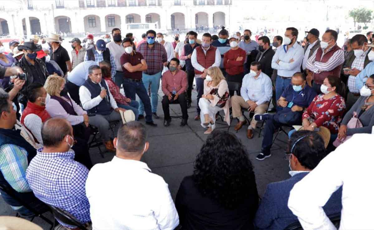 Presidentes municipales edomex se unen a la causa de Juan Rodolfo de Toluca.