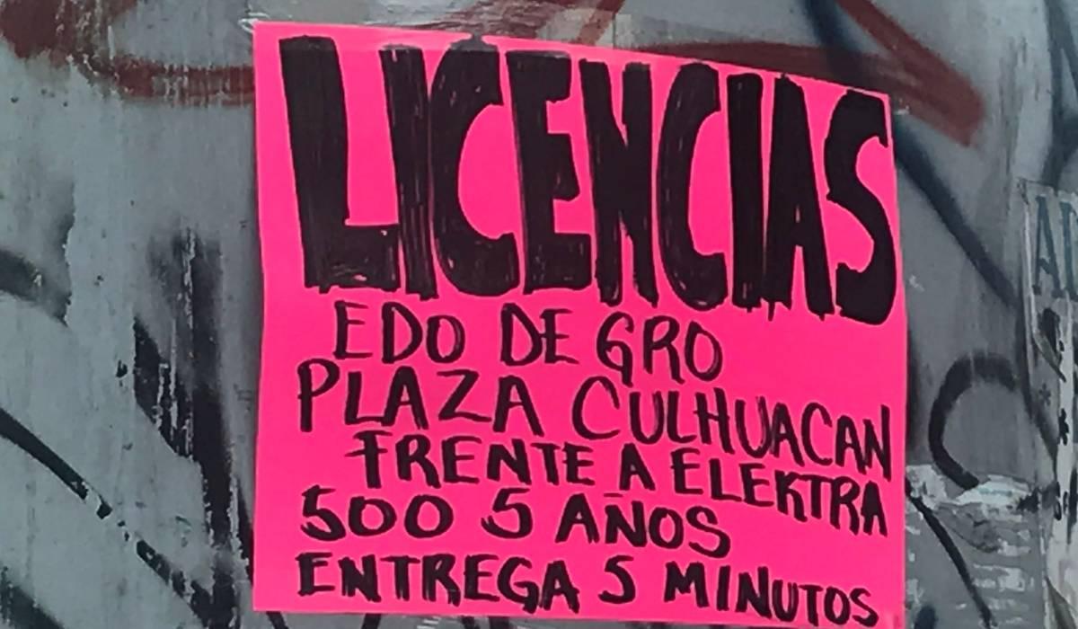 ¿Las licencias de conducir de Guerrero son legales?