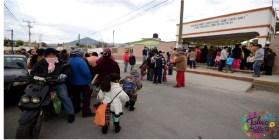 NIÑOS ENTRANDO A CLASES EN SU ESCUELA DE PREESCOLAR