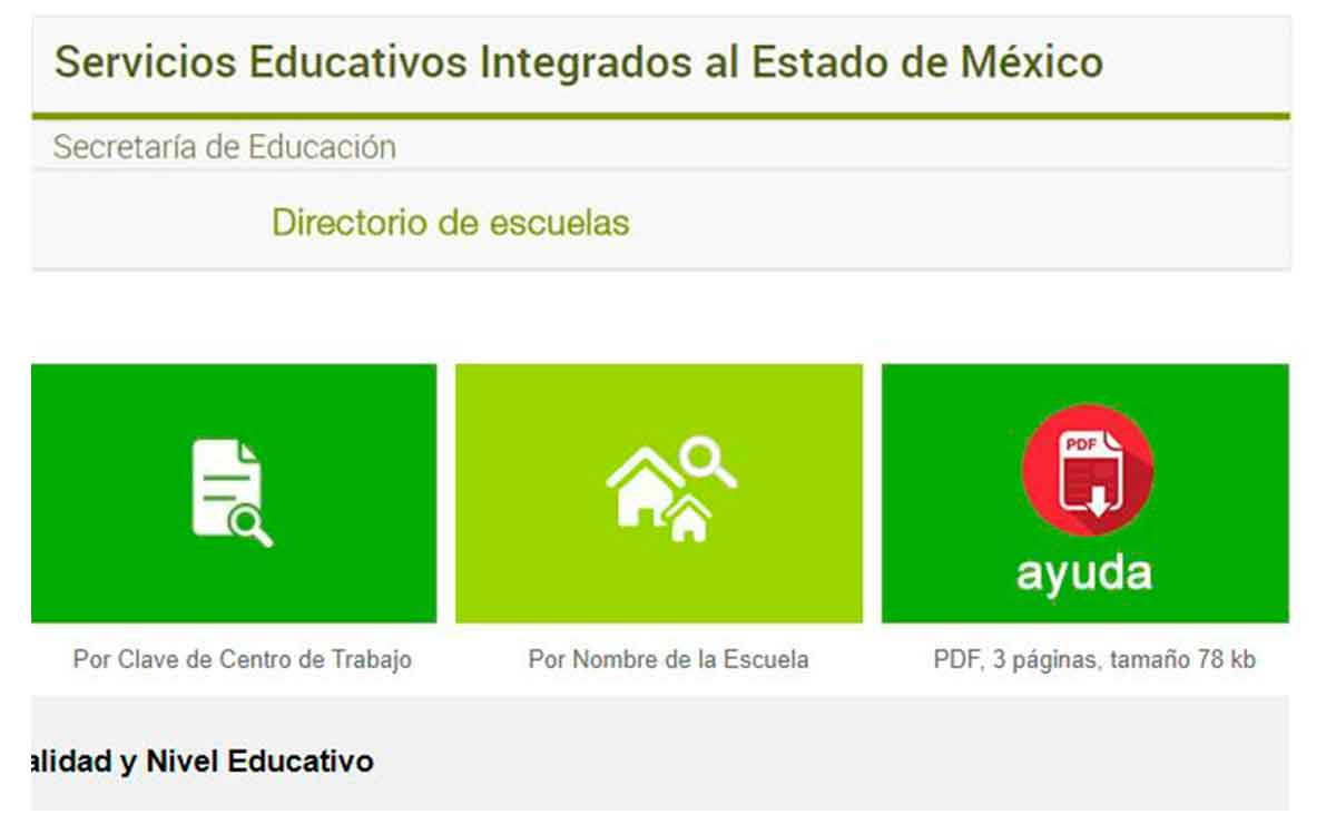 Cómo consultar qué escuelas particulares participan en SEIEM.