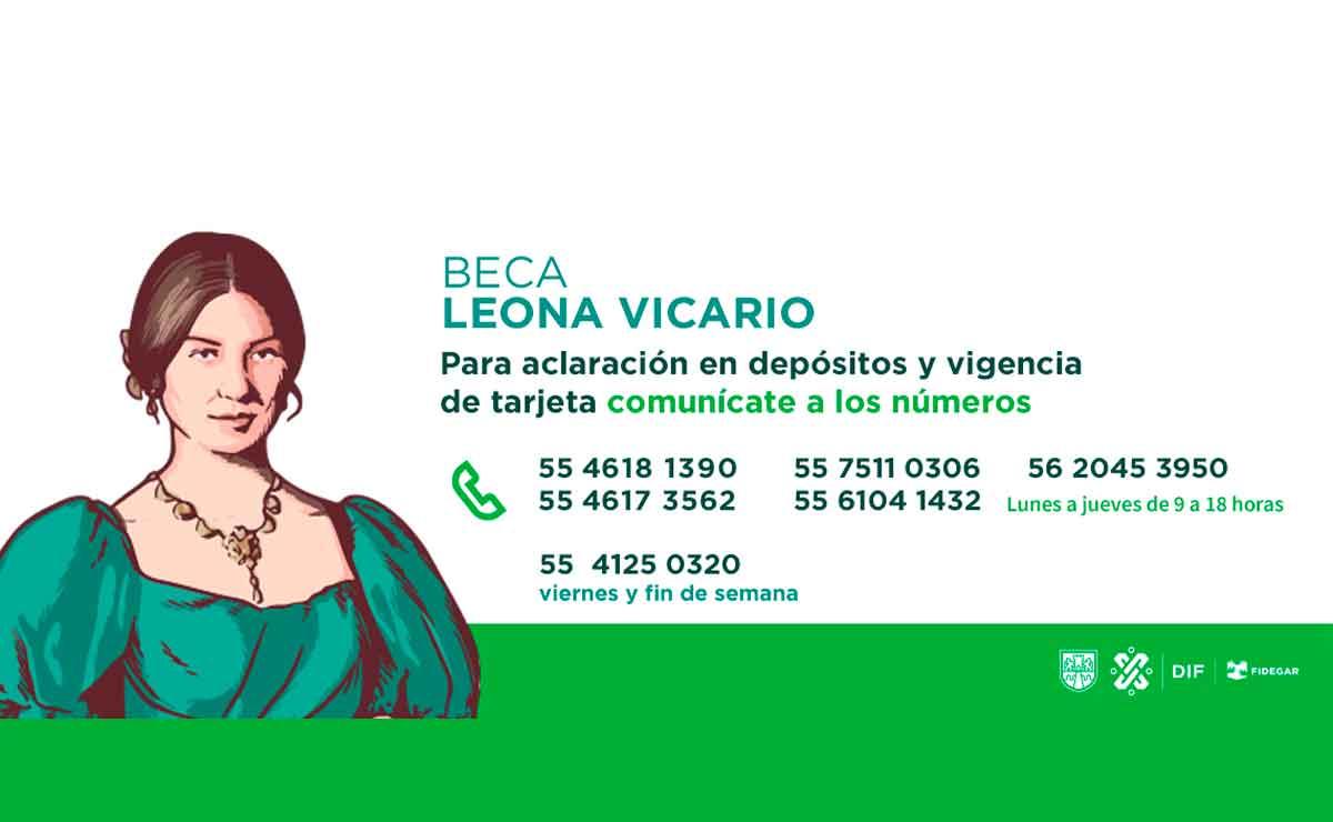 Registro para Beca Leona Vicario.
