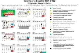 Descarga e imprime el Calendario escolar EdoMéx 2021-2022
