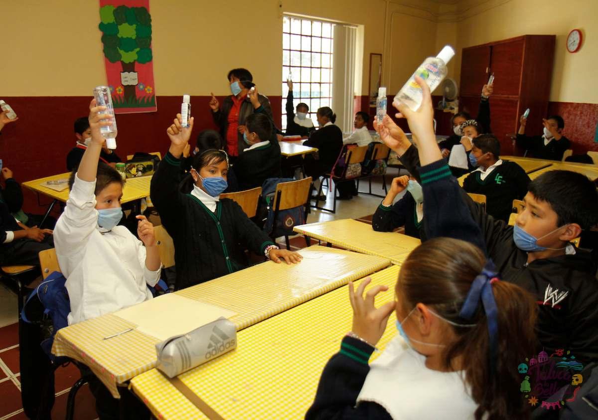 AMLO anunció que no hay nada que impida el regreso a clases presenciales