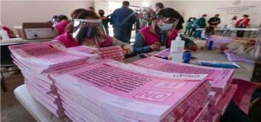 papeletas de la consulta popular 2021 en México