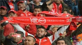 afisionados del Toluca FC durante un partido