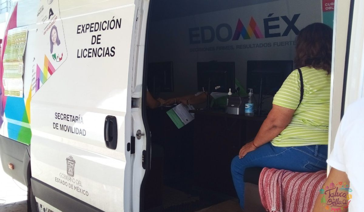Tramita tu licencia de conducir en el EdoMéx 2021 en las unidades móviles