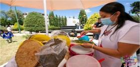 expo del huarache en Toluca en la colonia Sanchez