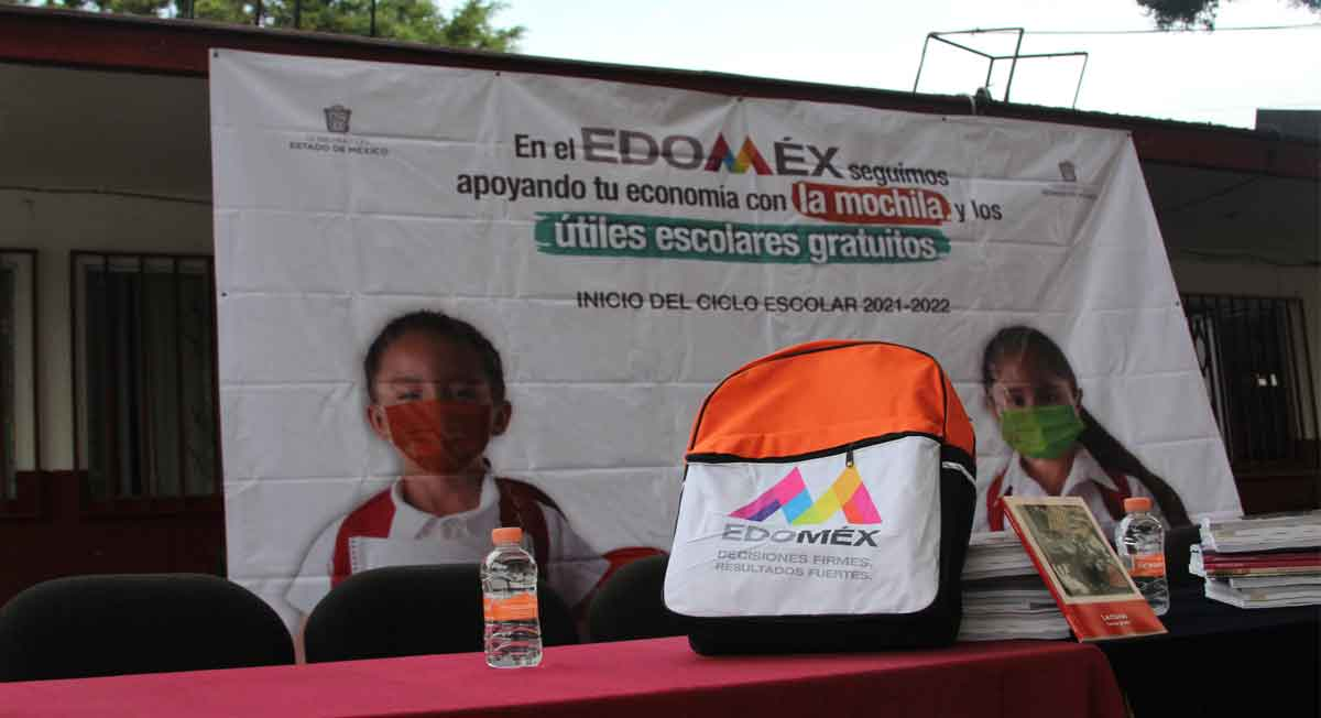 Comienza entrega de útiles escolares Edomex, paso a paso para solicitarlos
