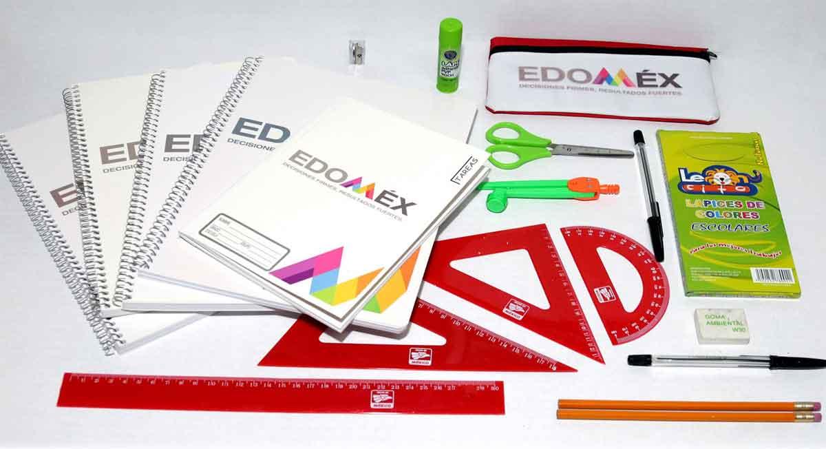 Conoce los dos requisitos que necesitarás para recibir útiles escolares Edomex y qué incluyen