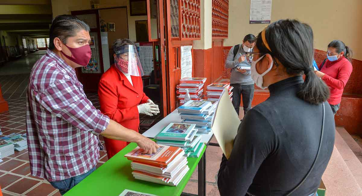 fehca de entrega de libros de texto gratuitos sep edomex 2021