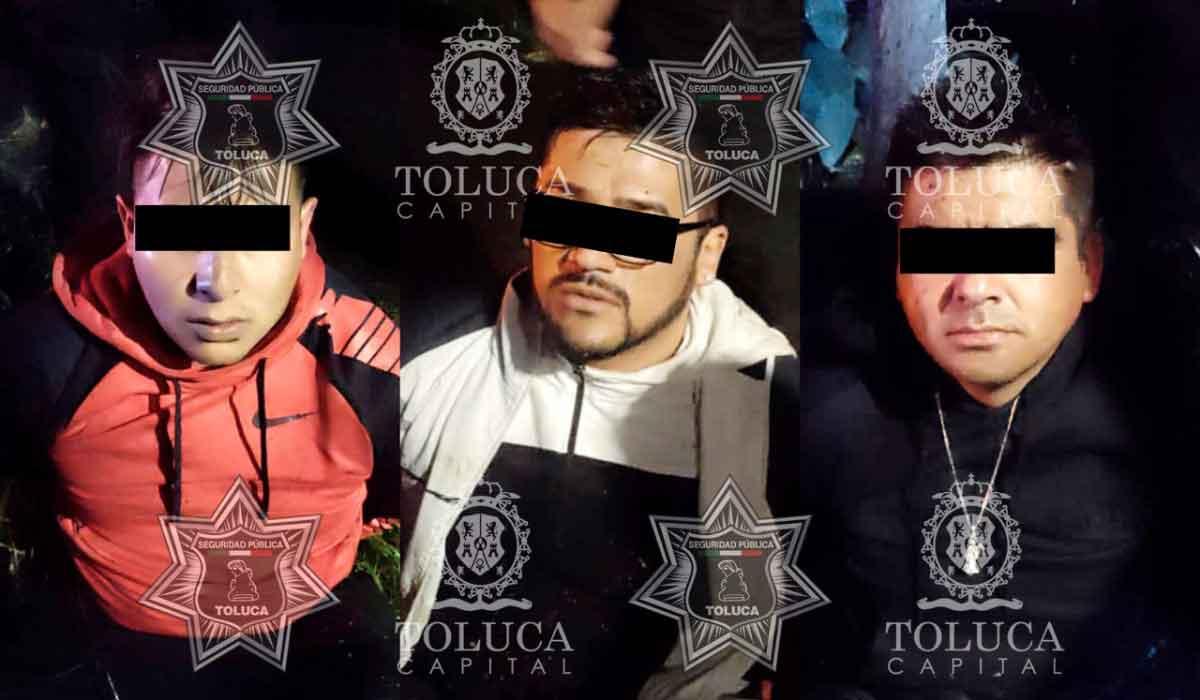 """Detienen a integrantes de la Banda """"Los Kikas"""", tras llamada de emergencia por robo a transeúnte"""