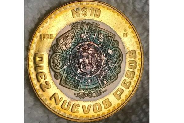 Moneda de diez es vendida hasta en dos mil pesos, ¿tú la tienes?