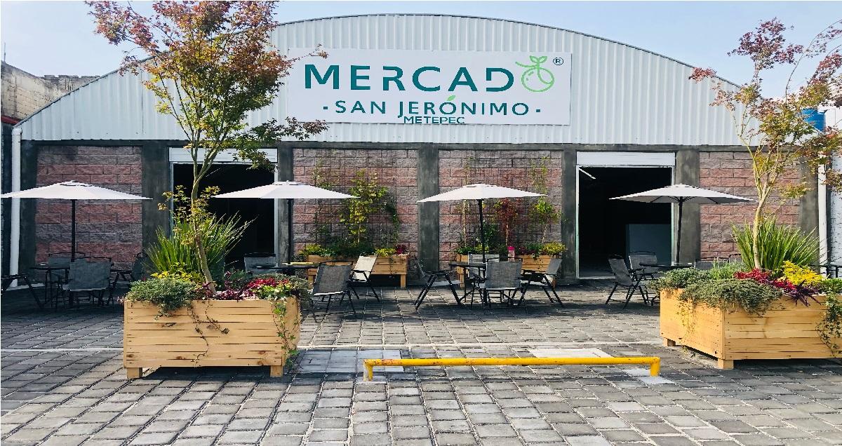 Conoce el novedoso Mercado San Jerónimo en Metepec