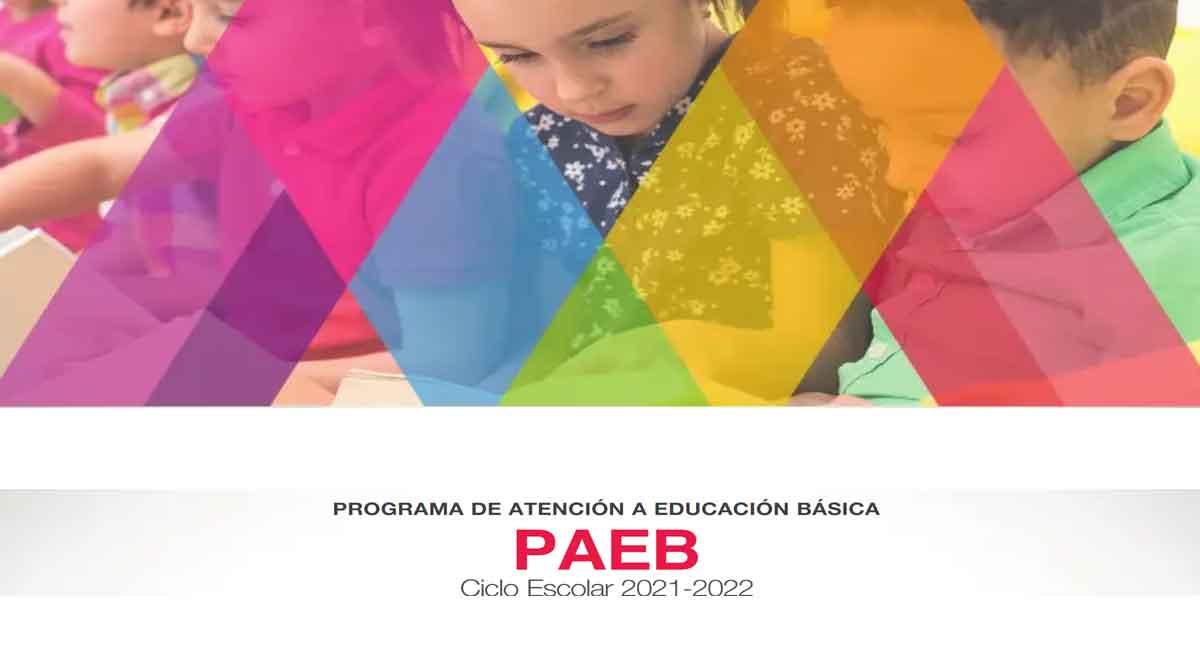 paeb 2021 cambios e inscripciones se haran para preescolar primaria y secundaria