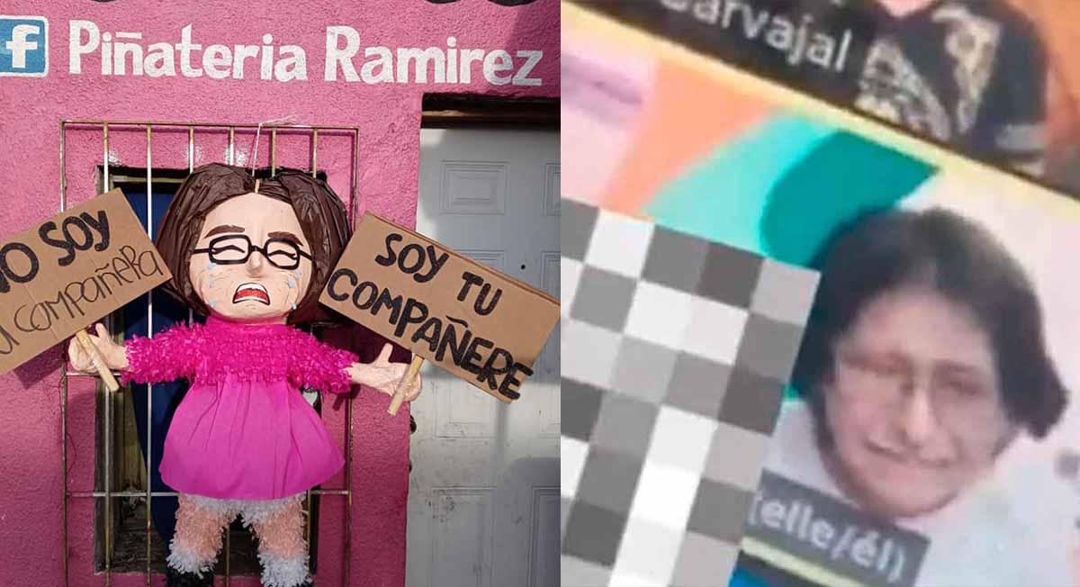 Piñata de la compañere fue creada en Tamaulipas