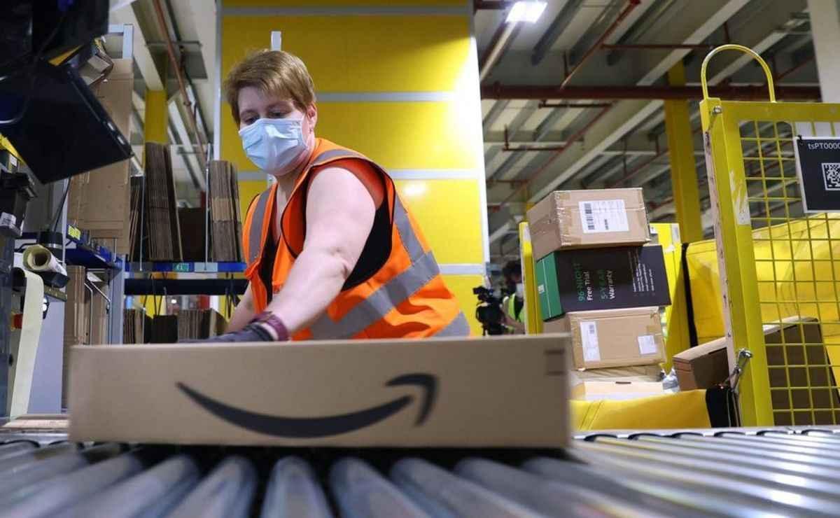 Amazon ofrece la modalidad de home office para trabajar desde casa y ganar dinero
