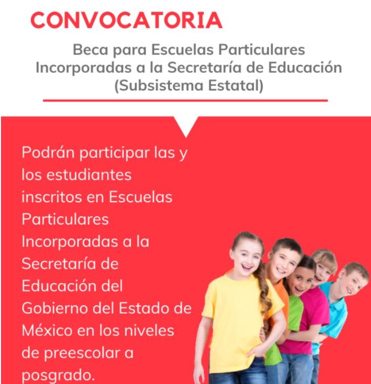 convocatoria beca escuelas particulares 2021