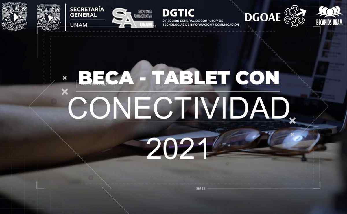 El programa Beca Tablet con Conectividad 2021 ofrece el préstamo de uno de una tableta e internet