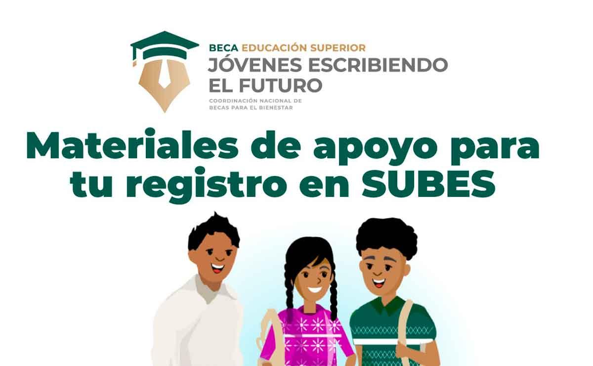 Becas Benito Juárez SUBES registro