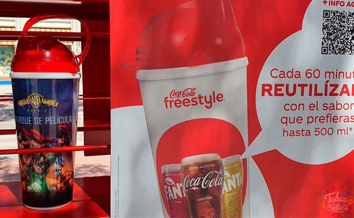 Coca-Cola lanzará presentación en vaso que serán rellenables