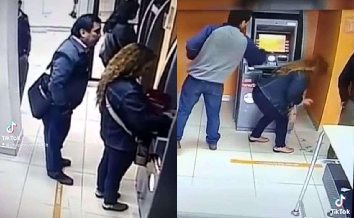 Así operan delincuentes para robar en cajeros automáticos
