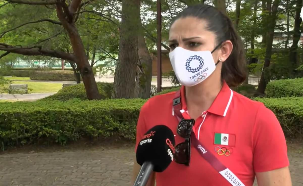 Ana Gabriela Guevara declara sobre la baja cosecha de preseas