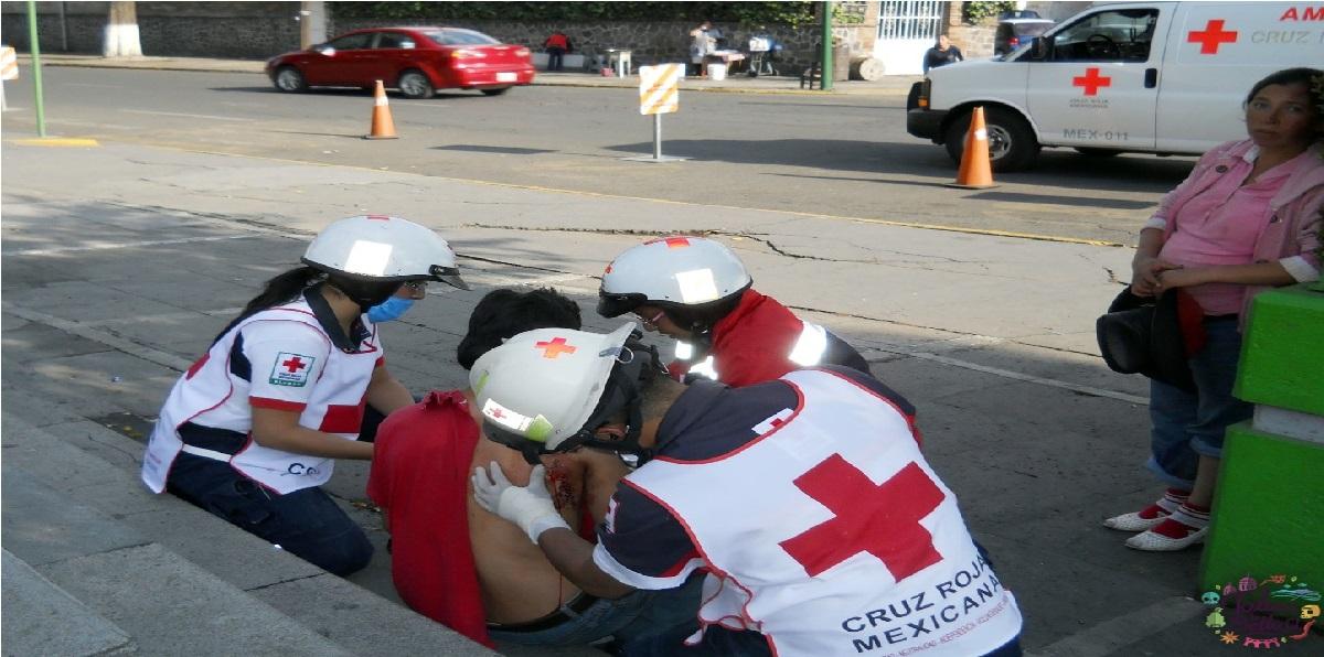 Conviértete en paramédico de la Cruz Roja en el Edomex 2021