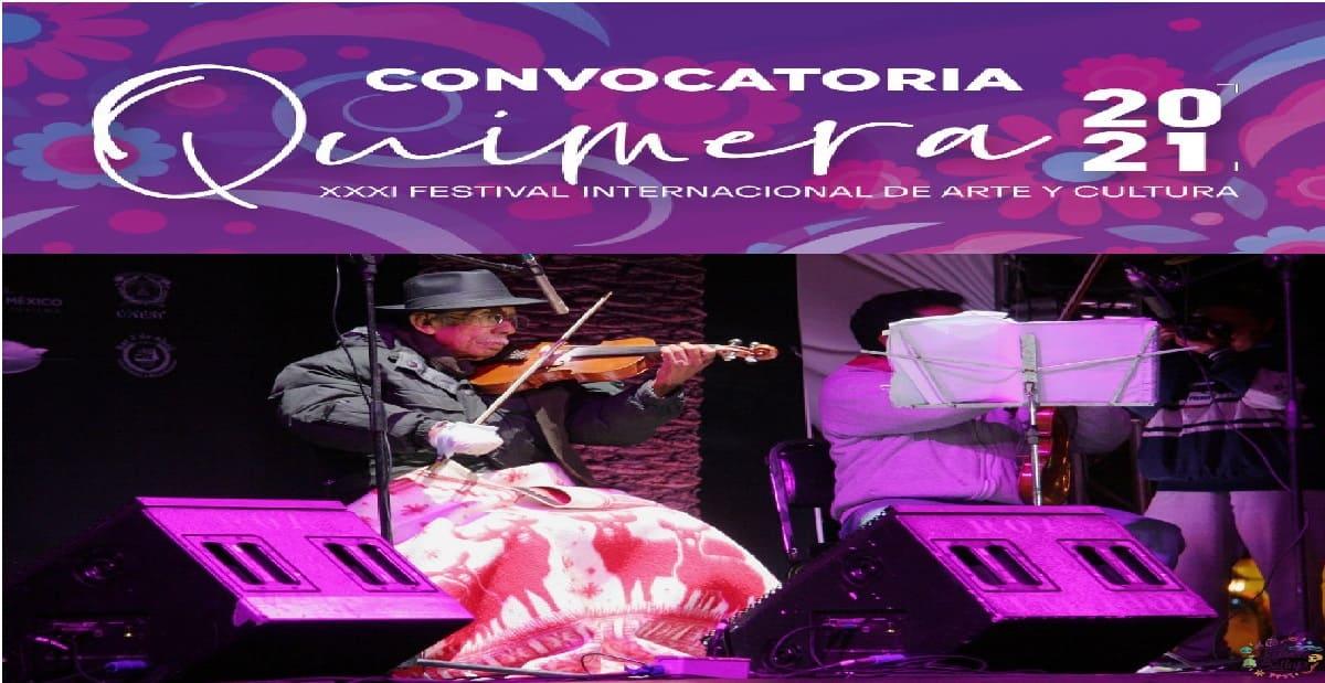 Convocatoria Quimera 2021 en PDF: Conoce los requisitos para ser parte del festival