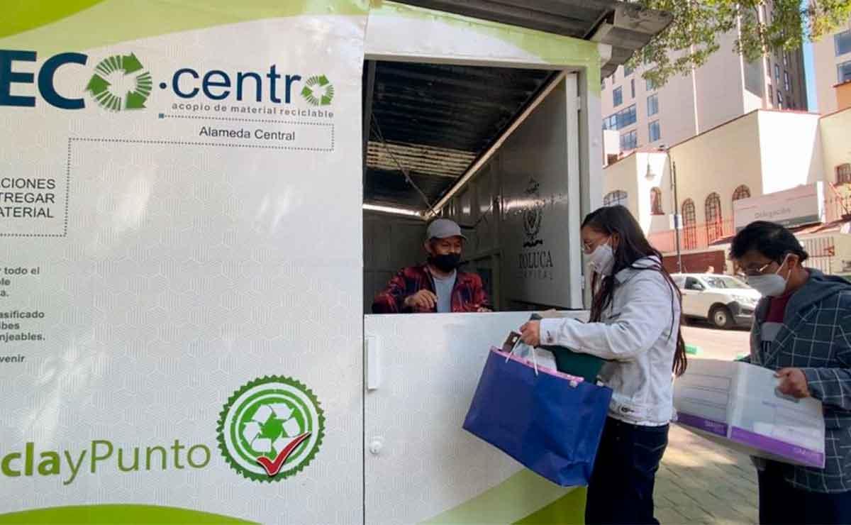 Ecocentros Toluca: Ubicación y horarios para cambiar tu material reciclable por despensa
