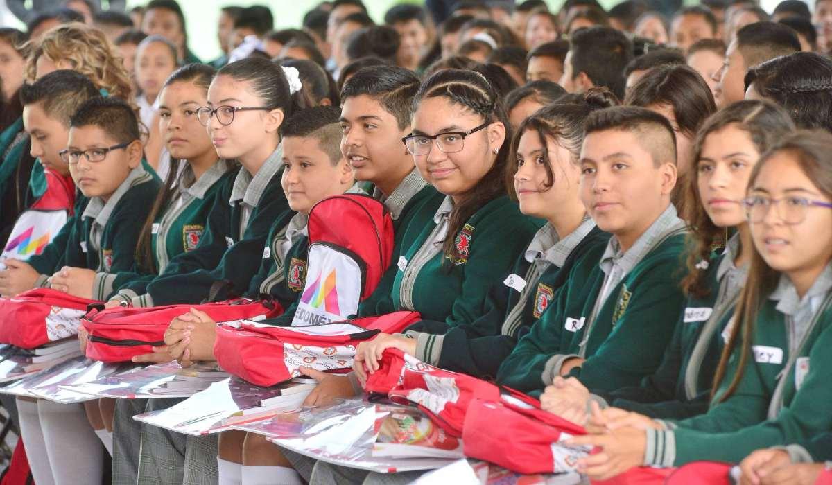Proceso de entrega de útiles escolares EdoMéx ciclo escolar 2021-2022