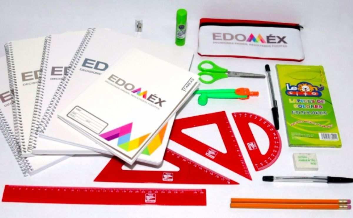 Las madres y padres de familia deberán de acudir el lunes 30 de agosto para la entrega de útiles escolares Edomex 2021