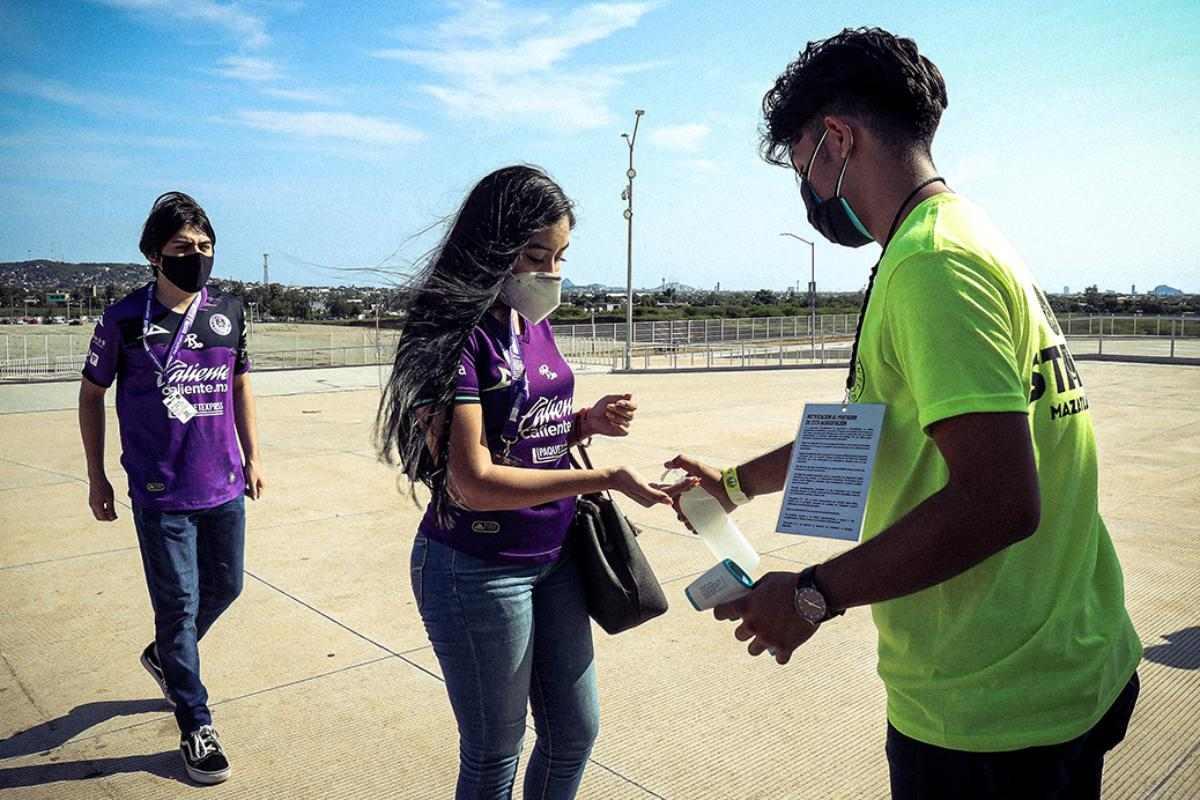 Estadio de Mazatlán pedirá certificado de vacunación COVID-19  para ingresar al inmueble
