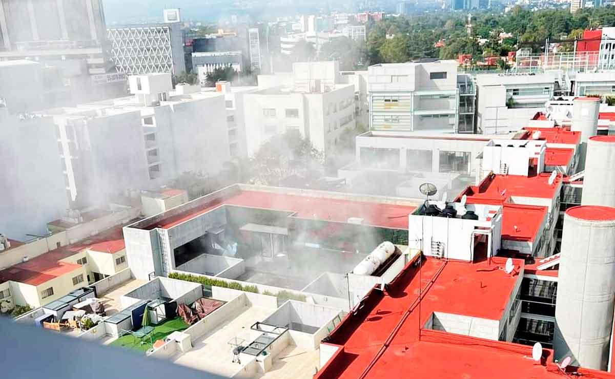 Ciudad de México, explota edificio en alcaldía Benito Juárez.