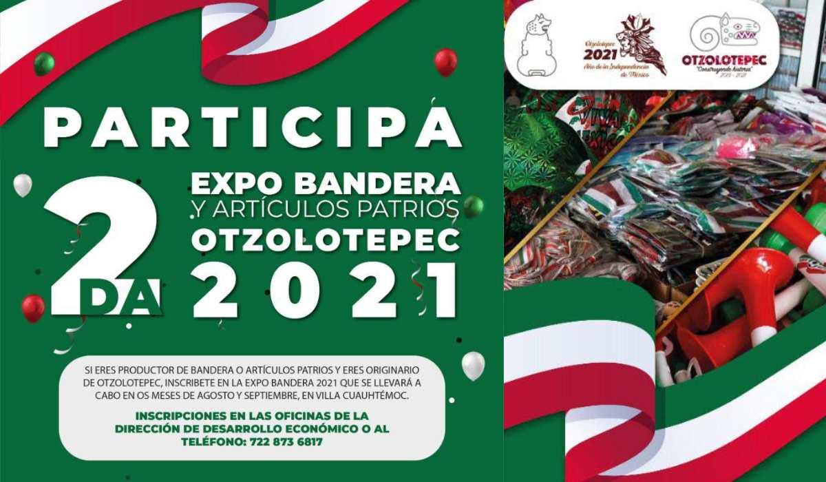 Fechas y requisitos para participar en la 2.ª Expo de artículos patrios Otzolotepec