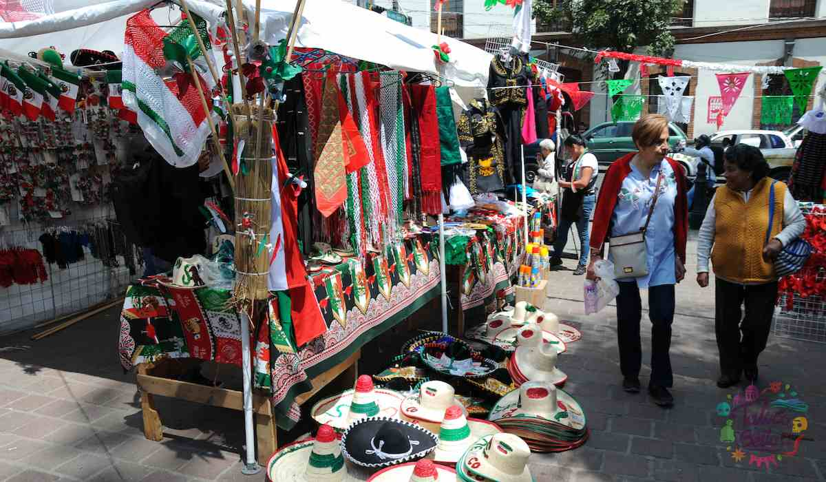 Puestos en Toluca del 15 de septiembre