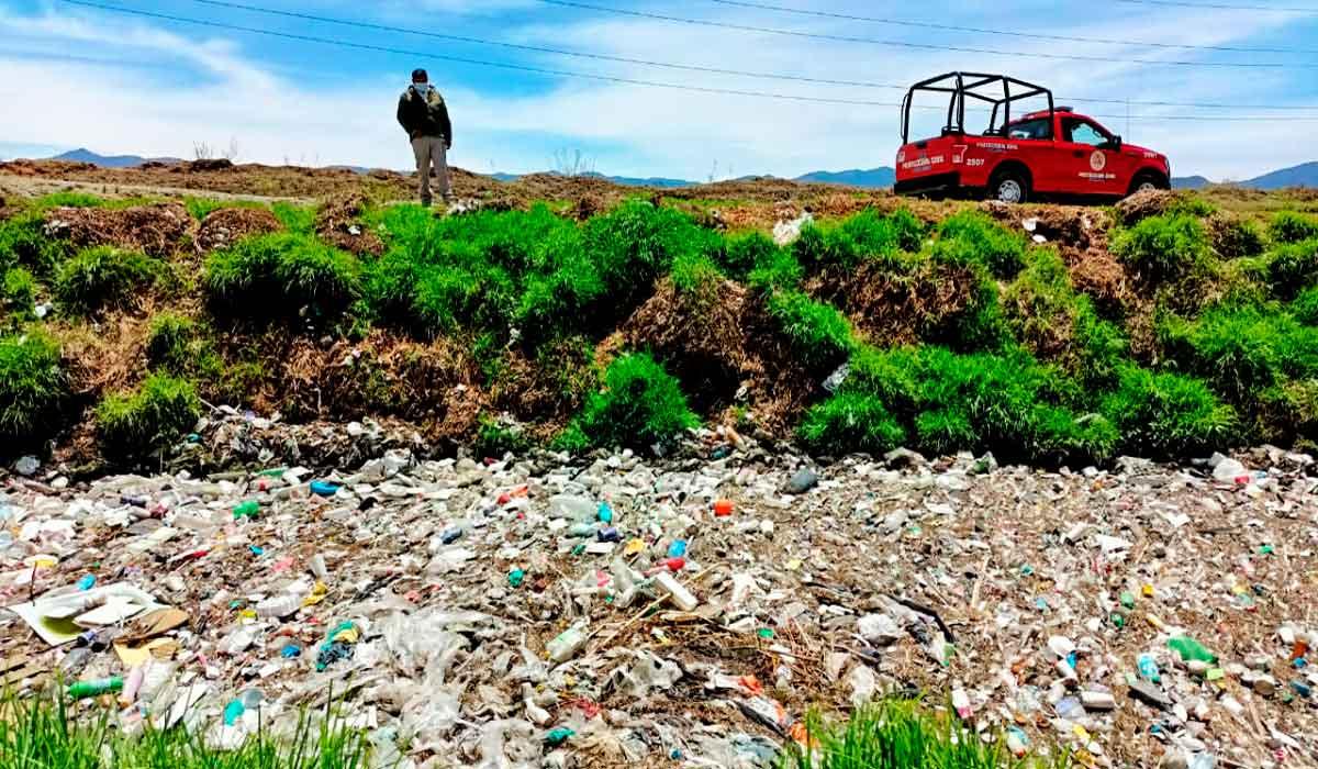 Acumulación de desechos en ríos y Toluca propicia inundaciones