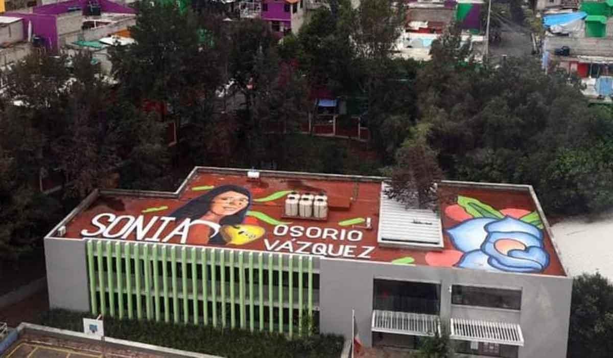 iztapalapa murales, vista desde cablebus linea 2 cdmx