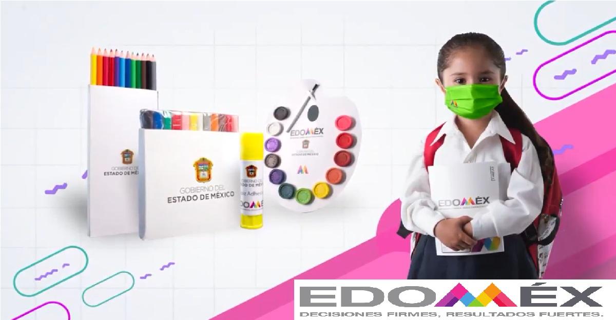 ¿Cuándo darán la mochila de útiles escolares en Edomex para preescolar 2021?