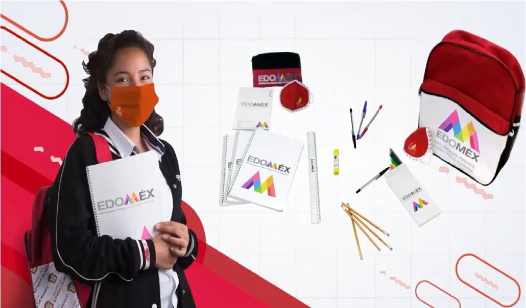 contenido de las mochilas de utiles escolares para las secundarias del edomex 2021