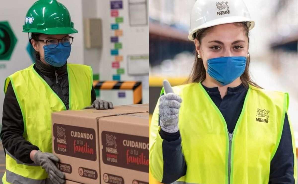 Nestlé se encuentra contratando personal nuevo para que se una a su equipo de trabajo en Edomex y CDMX