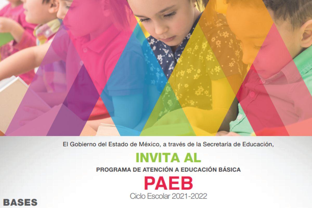 Guía para ingresar al PAEB Edomex 2021 y realizar un cambio de escuela