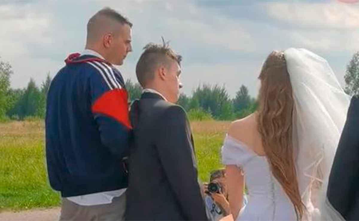 ¿Plan con maña? Novio llega borracho a su boda y así lo casan