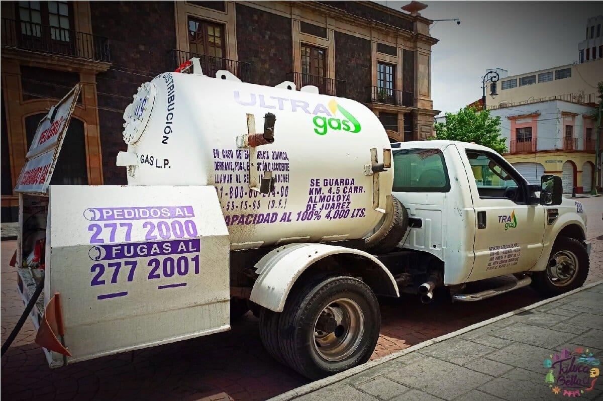 Precio del gas LP en Toluca del 08 al 14 de agosto