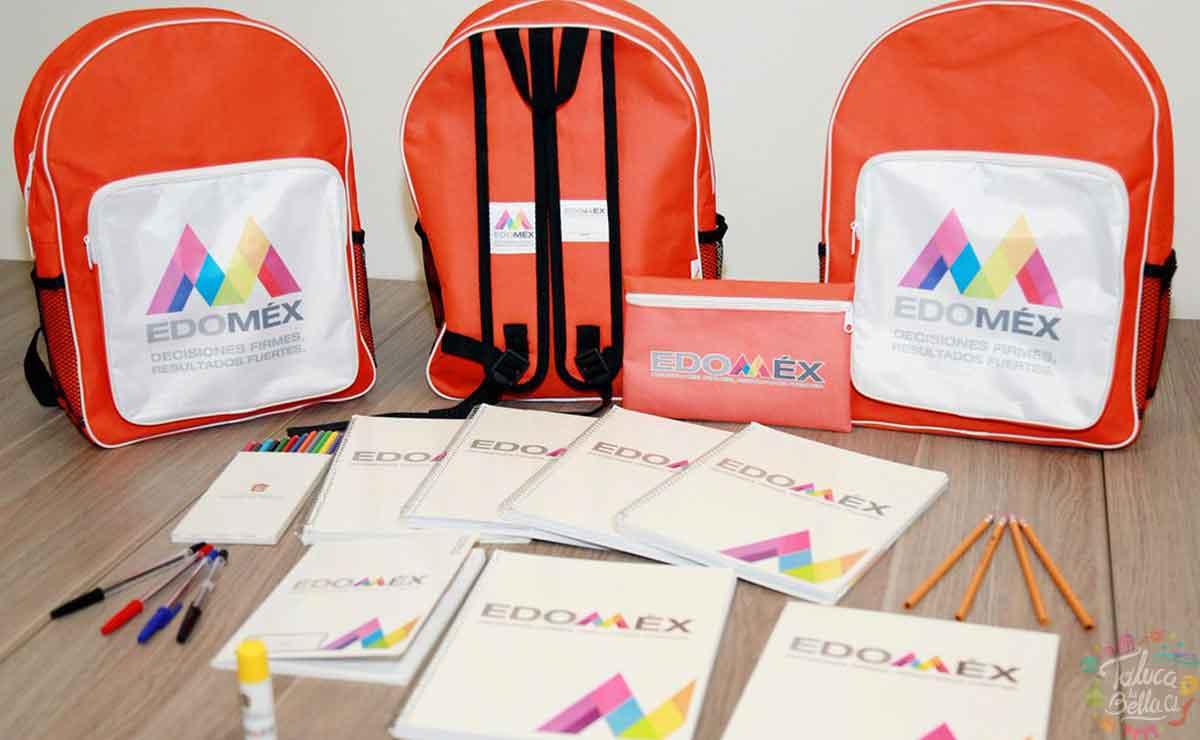 ¿Qué contiene la mochila de Útiles Escolares del Estado de México 2021?