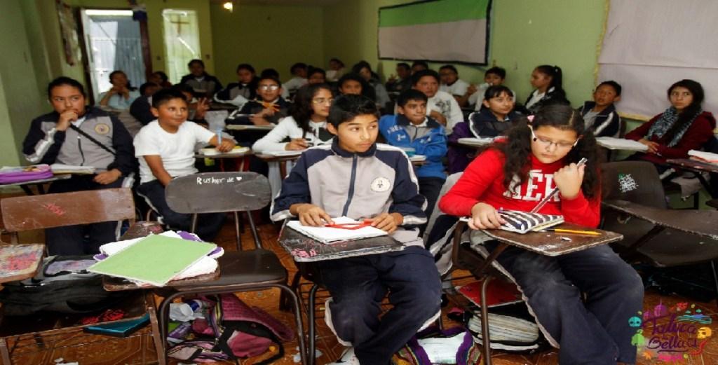 alumnos de secundaria para un proximo regreso a clases
